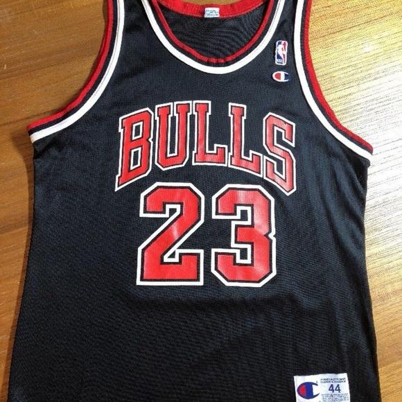 separation shoes 9e2bf 29a5d Michael Jordan Chicago Bulls Champion 23 Jersey 44